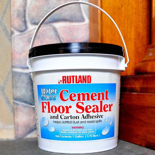 Water Glass Adhesive and Concrete Sealer-1 Gal.