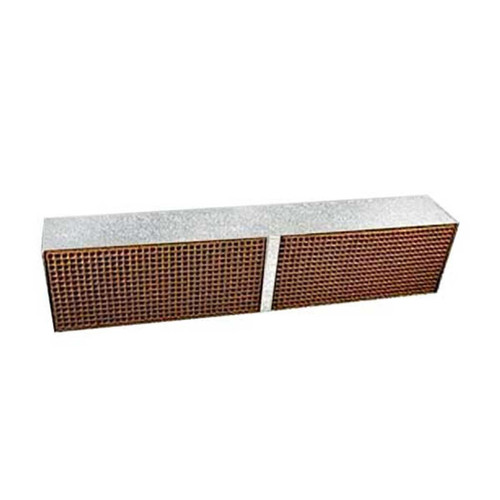 2.54'' x 13'' x 2'' Catalytic Combustor Replacement with Metal Band