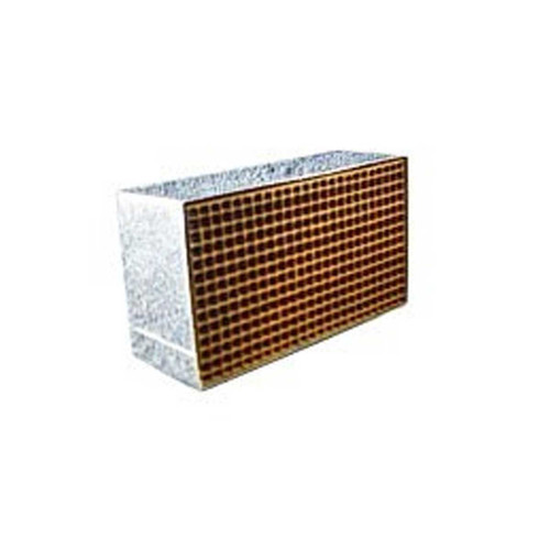 2.54'' x 6.5'' x 2'' Catalytic Combustor Replacement with Metal Band