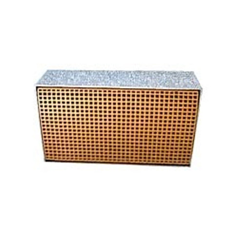 3.875'' x 6.875'' x 2'' Catalytic Combustor Replacement with Metal Band