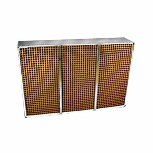 6.96'' x 10.6'' x 2'' Catalytic Combustor Replacement with Metal Band