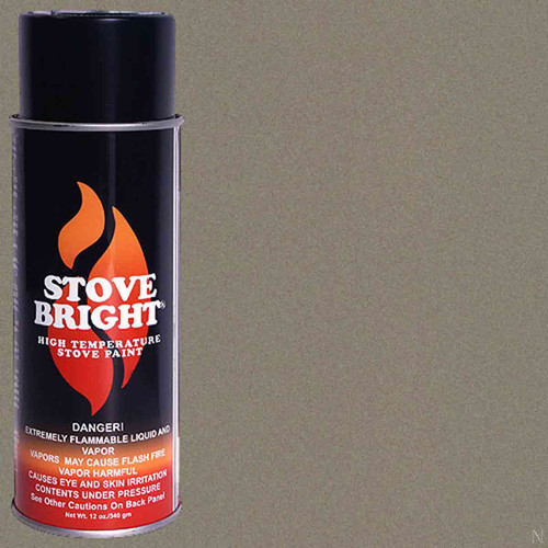 Stove Bright High Temp Paint - Metallic Brown