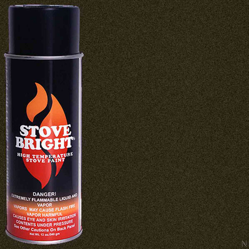 Stove Bright High Temp Paint - Goldenfire Brown