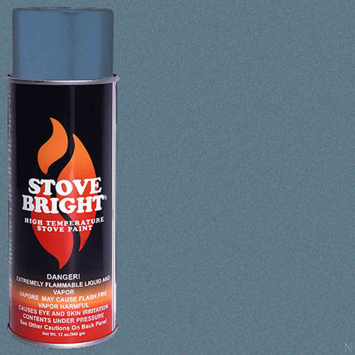 Stove Bright High Temp Paint - Sky Blue