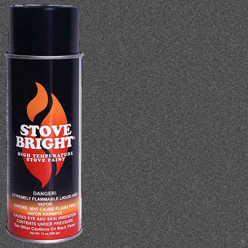 Stove Bright High Temp Paint - Charcoal