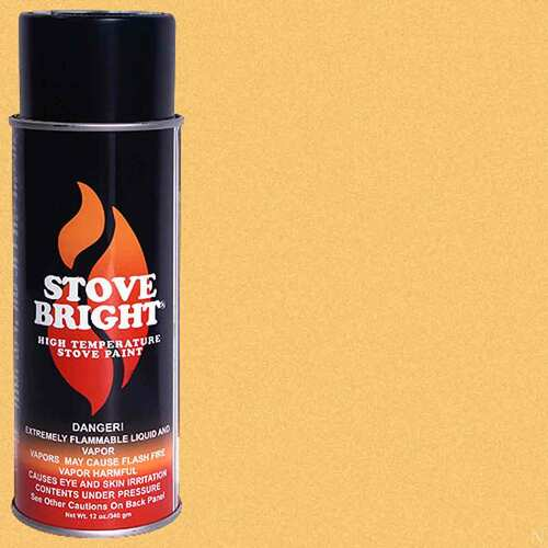 Stove Bright High Temp Paint - Gold