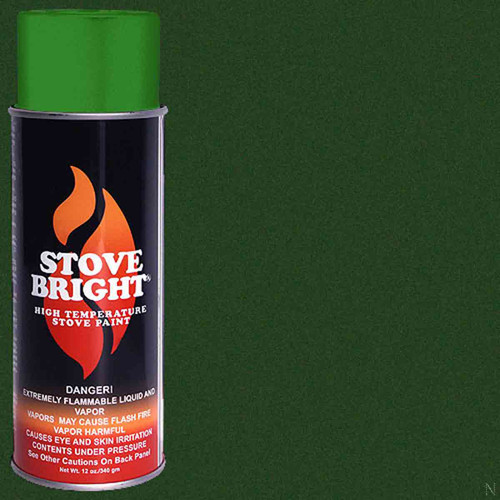 Stove Bright High Temp Paint - Forest Green