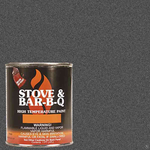 High Temperature Paint- Charcoal 16 oz