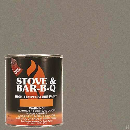 High Temperature Paint- Metallic Brown 16 oz