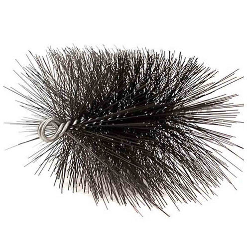 8'' x 12'' Heavy-Duty Rectangle (Wire) Chimney Brush 3/8'' NPT