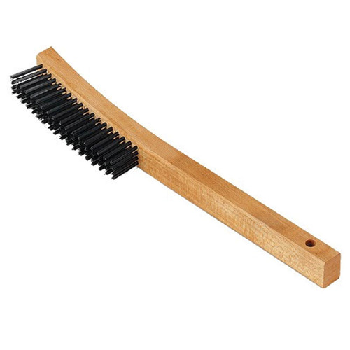 Curved handle Brush with 3 x 19 Rows 81009M