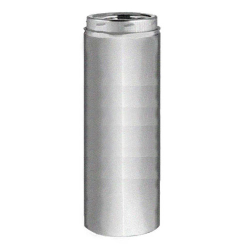 7'' x 36'' Selkirk Galva-Temp Galvanized  Chimney Pipe - 207036G