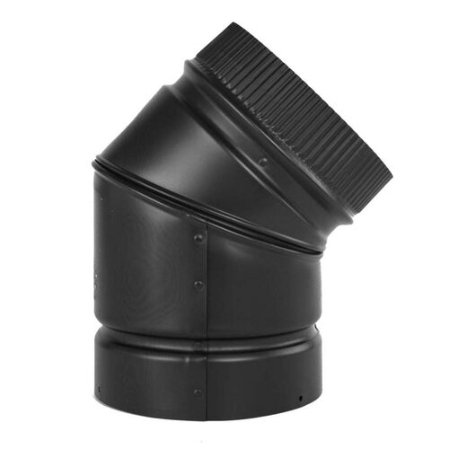 6'' DSP Double Wall 45 Degree Elbow - DSP-6E4