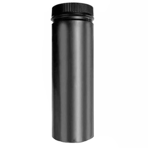 6'' x 36'' DSP Double Wall Black Stovepipe - DSP-6P36