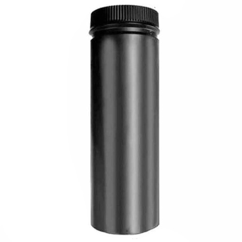 8'' x 36'' DSP Double Wall Black Stovepipe - DSP-8P36