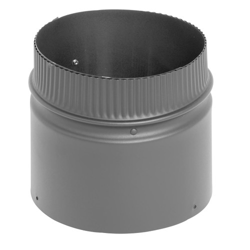 8'' x 6'' DSP Double Wall Black Stovepipe - DSP-8P6