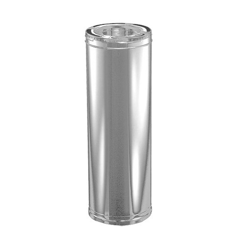 6'' x 24'' DuraPlus Stainless Steel Chimney Pipe - 6DP-24SS