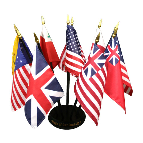 Flags of Our Country Desk Display