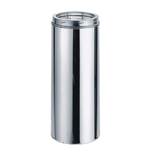 6'' x 24'' DuraTech Stainless Steel Chimney Pipe - 6DT-24SS