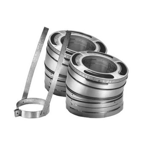 7'' DuraPlus 30 Degree Stainless Steel Elbow Kit - 7DP-E30SS