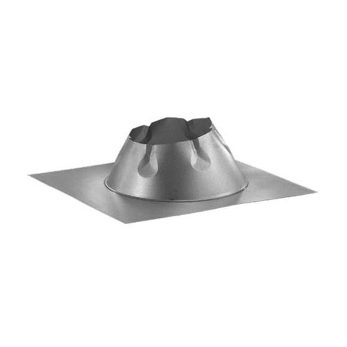 8'' DuraPlus 0/12 - 6/12 Metal Roof Flashing - 8DP-F6DSA