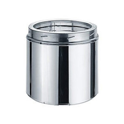8'' x 9'' DuraTech Stainless Steel Chimney Pipe - 8DT-09SS