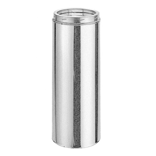 8'' x 36'' DuraTech Galvanized Chimney Pipe - 8DT-36
