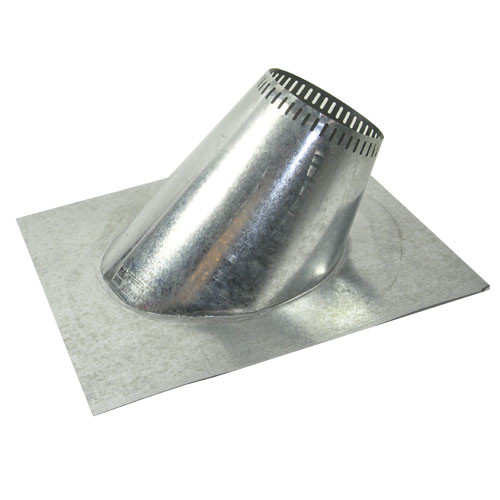 Shasta Vent 6 Inch Ventilated Roof Flashing - 12 Pitch
