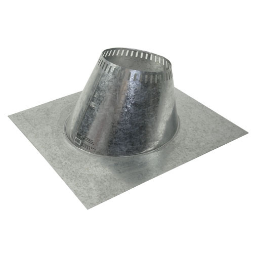 Shasta Vent 6 Inch Ventilated Roof Flashing - 6 Pitch