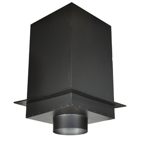 "Shasta Vent 8 Inch Ceiling Support Box 24"""" Height"