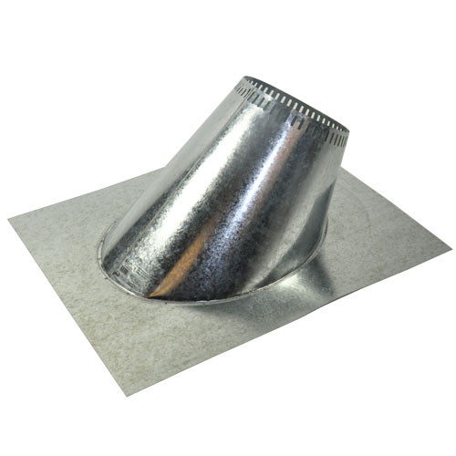 Shasta Vent 8 Inch Ventilated Roof Flashing - 12 Pitch