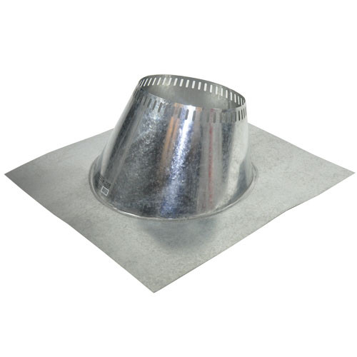 Shasta Vent 8 Inch Ventilated Roof Flashing - 6 Pitch