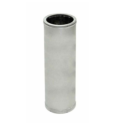 10'' x 24'' DuraTech Stainless Steel Chimney Pipe - 10DT-24SS
