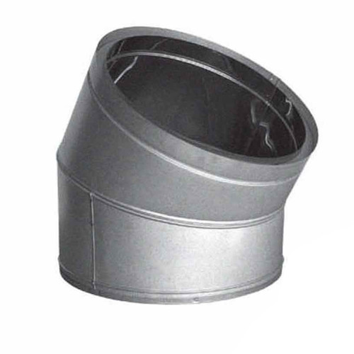 10'' DuraTech 30 Degree Galvanized Elbow - 10DT-E30