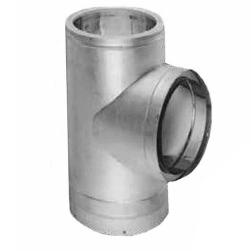 10'' DuraTech Galvanized Tee with Cap - 10DT-T