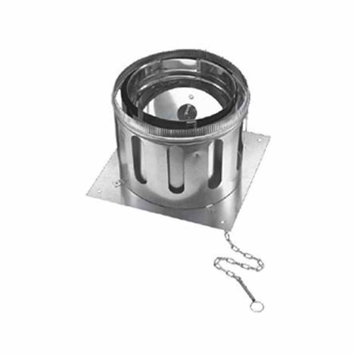 16'' DuraChimney II Anchor Plate with Damper - 16DCA-APD