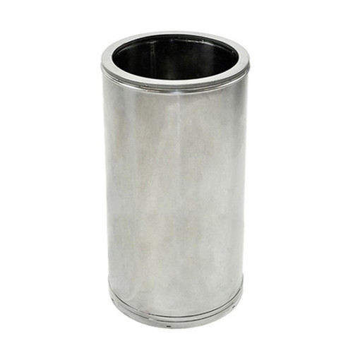 16'' x 18'' DuraTech Stainless Steel Chimney Pipe - 16DT-18SS