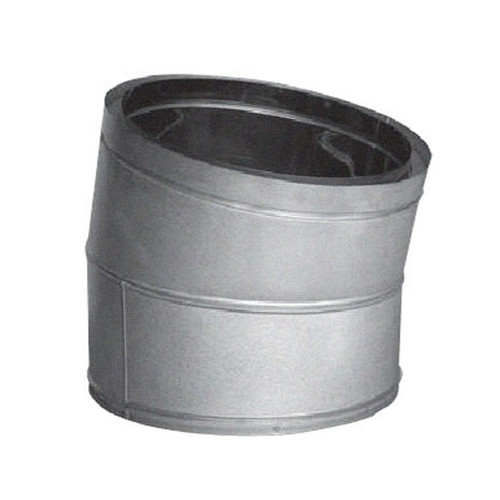 16'' DuraTech 15 Degree Galvanized Elbow - 16DT-E15