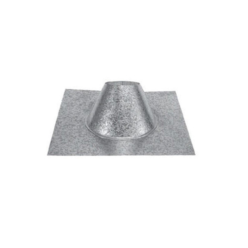 3'' PelletVent Pro 0/12 - 6/12 Metal Roof Flashing - 3PVP-F6DS