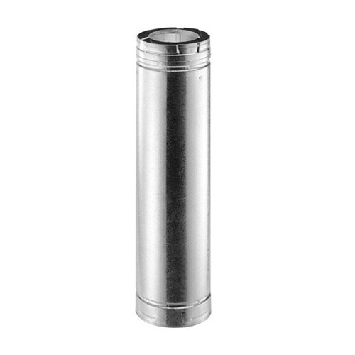 4'' x 6 5/8'' DirectVent Pro 60'' Galvanized Chimney Pipe