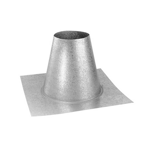 4'' x 6 5/8'' DirectVent Pro Flat Roof Flashing - 46DVA-FF