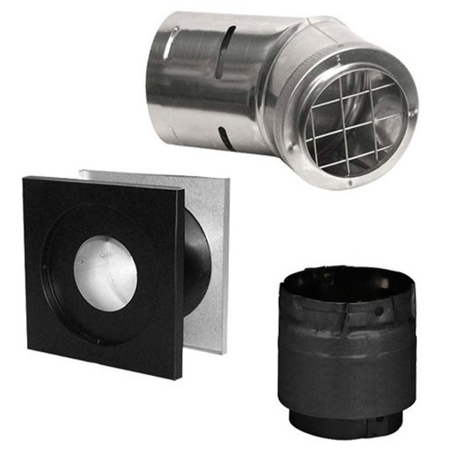 "4"" Simpson PelletVent Pro Horizontal Kit - 4PVP-KHA"