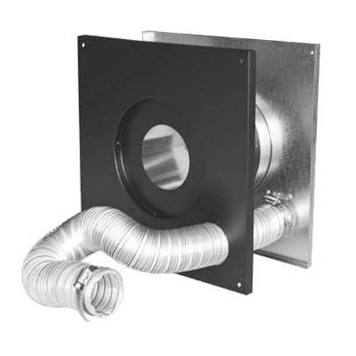 4'' PelletVent Pro Wall Thimble Air Intake Kit - 4PVP-WTI