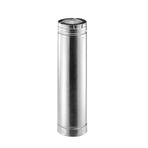 5'' x 8'' DirectVent Pro 60'' Galvanized Chimney Pipe