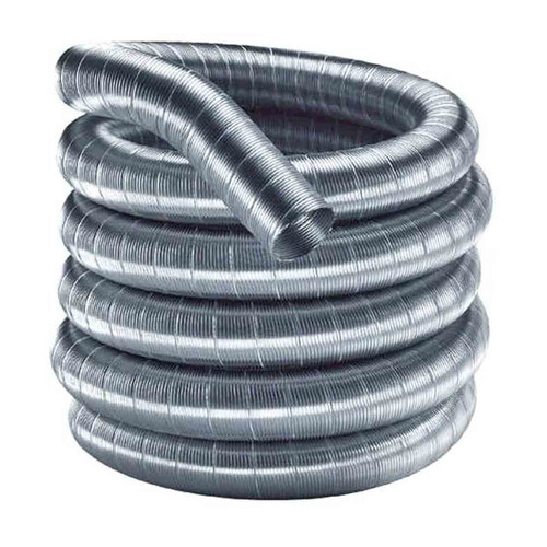 6'' x 15' DuraFlexSS 304 Stainless Steel Chimney Liner - 6DF304-15