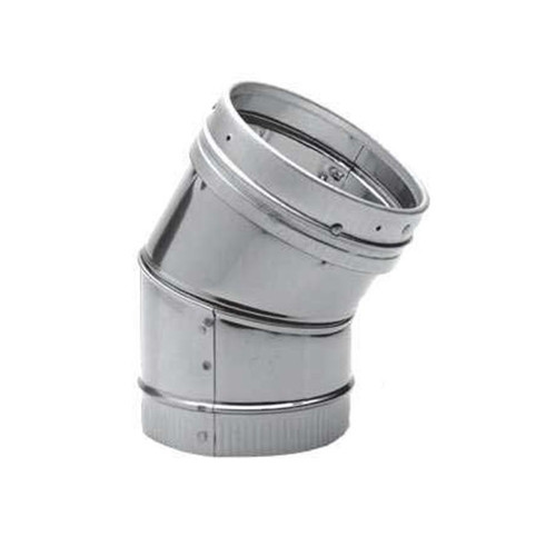 6'' DuraLiner 30 Degree Stainless Steel Elbow - 6DLR-E30SS