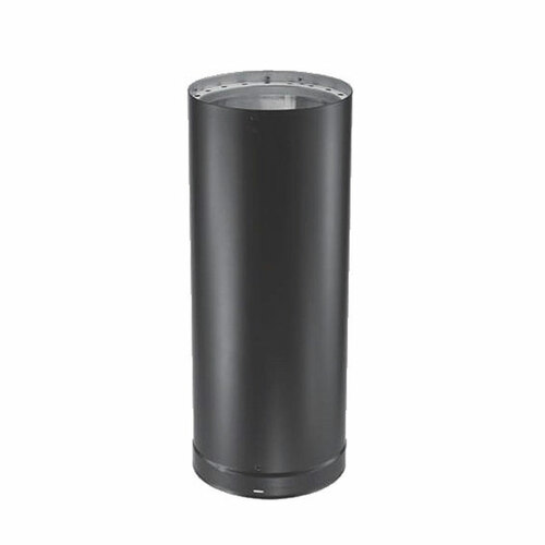 6'' x 18'' DVL Double-Wall Black Stove Pipe - 6DVL-18