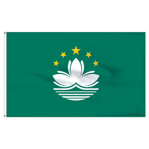 Macao 3' x 5' Nylon Flag