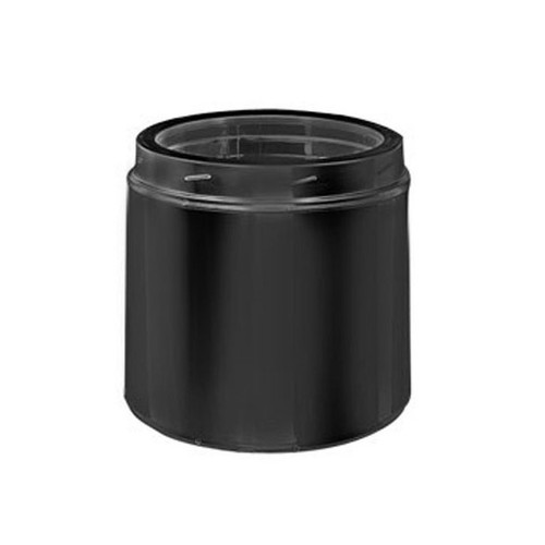 8'' x 9'' DuraTech Black Chimney Pipe - 8DT-09B