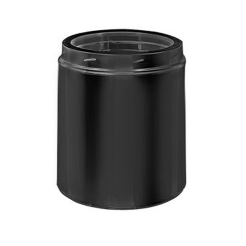 8'' x 12'' DuraTech Black Chimney Pipe - 8DT-12B